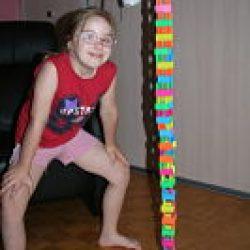 Zbudowałam taaaaaką wieżę