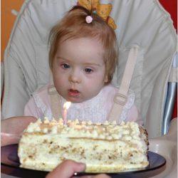 To mój pierwszy tort urodzinowy – mam roczek